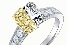 Yellow vs White Diamonds Face-Off / Which do you prefer in these epic ring match-ups?