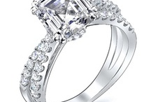Asscher Cut Engagement Rings / Asscher cut engagement rings are an elegant style, rapidly gaining popularity as a tasteful alternative to more traditional styles such as the round cut.