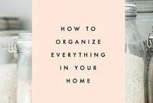 Organizational Love / Lets get organized! / by Asha