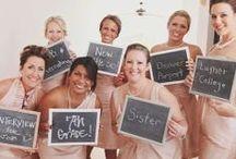 Wedding - Bridesmaids/Wedding Party / by Emily Woodrich