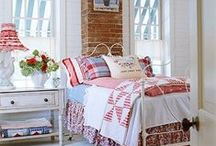 A Place to Rest...Bedroom Inspiration / Soft, comfy, cozy, snuggly place to rest