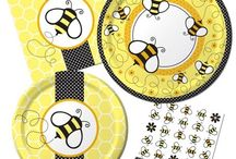 BaBEE Shower / Bee themed baby shower for my sister.  / by Kayla Irek