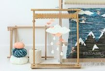 make + do // weaving / by Erin Pate