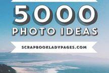 Creative - Photography Lists / Photo Challenge and Idea Lists