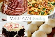 Cuisine - Meal Plans / menu planning makes cooking so much easier!