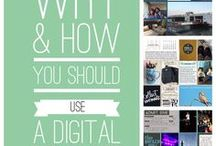 Creative - Templates / layered templates to use for digital scrapbooking