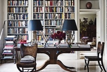 Bookcases / by Kathryn Foley