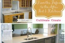 Kitchens / by Amanda Henderson @Cultivate Create