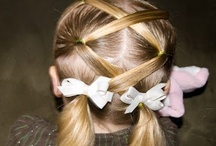 Kids Style - Hair / Cute hair designs for kids / by Shannon Eaves