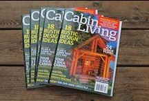 Magazine Covers / These are cover images from previous issues of Cabin Life, each linked to that issue's table of contents. / by Cabin Living