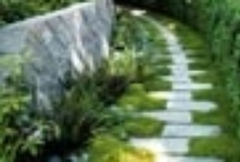 Paving and Stone Work / Samples of different types of paving and stone work for your garden and landscape