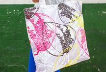 Colourful Canvas Bags! / by Rachael Taylor Studio