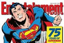 man of steel / My favorite of all the comic book super heros!