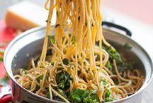 !!Pasta Recipe Mosaics / Recipes for pasta dishes