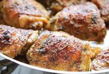 !!Chicken/Turkey Recipe Mosaics / Recipes made with Chicken or Turkey