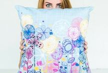 Statement Cushions! / Decorate your home with these fun cushion covers with a selection of Rachael's most in demand designs!