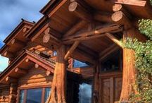 Tree Columns / Go beyond structural posts or beams to add true rustic character and even whimsy to your cabin design. / by Cabin Living