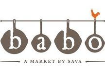 """Babo Market / Is it a grocery store? Is it a restaurant? We purposefully designed our markets to be """"Grocerants"""" where you have the best of both worlds."""