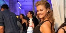 Nina Agdal DANISH / Place of Birth: Denmark; Date of Birth: 26 March, 1992; Ethnicity: Danish; Nina Agdal is a Danish model. She is 5 feet 9 inches tall and has light brown hair and green/hazel eyes.
