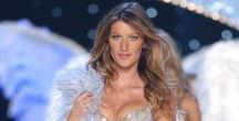 ANGEL Gisele Bundchen BRAZILIAN / Gisele Caroline Bündchen born 20 July 1980) is a Brazilian fashion model and actress. Since 2004, Bündchen has been among the highest-paid models in the world, and as of 2007 was the 16th richest woman in the entertainment industry. In 2012, she placed 1st on the Forbes top-earning models list In 2014, she was listed as the 89th Most Powerful Woman in the World by Forbes. Angel since 2000 - 2007. Walks: 7 from 1999 - 2006.