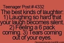 Laughter=best medicine / by Bethany Starkey