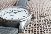 Watches / Watches from Weiss Watch Company and others who carry on the craft of watchmaking