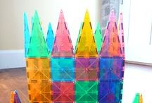 Magna-Tiles® Castles! / Design and build castles with basic geometric shapes.