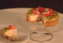 Miniature polymer clay foods