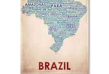 Saudade do brasil  / Places I've been and want to go ...