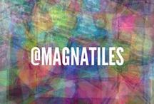 Magna-Tiles® Art + Designs / Magna-Tects explore art, color, symmetry, patterns, and fashion with Magna-Tiles!