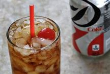 Soda Cocktails / Cocktails with soda.