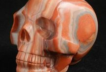 Crystal skulls and other things / Crystal carvings