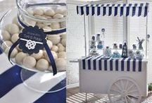 Birthday ideas - nautical / My Birthday party, decor and table setting