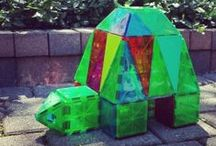 Magna-Animals / Make your favorite animals with Magna-Tiles®!
