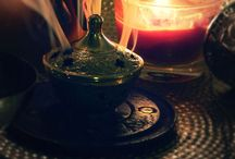 Candles and incense..... / Creating beautiful moods....