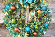 Wreaths and door decorations / by Kay Waggener