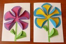 pracovní činnosti  - jaro (craft - spring)