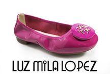 Exclusivo de LUZ MILA LÓPEZ / Zapatos en cuero última moda y únicamente en LUZ MILA LÓPEZ