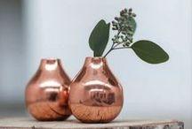Miedź // Copper - 2015 trend / Trend 2015 roku - miedź  #dekoracje_domu #design #copper #decoration #meble #furniture