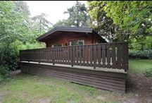 Meadow Premier 11 Fritton Lake Retreats / Luxury solid timber lodge overlooking our golf course