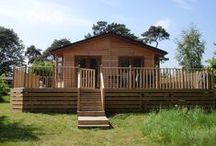 Meadow Premier Plus 03 Fritton Lake Retreats / Luxury lodge overlooking our golf course and woodland beyond.