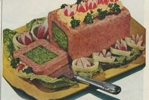 """Vintage """"horror"""" food ads / by Kay Waggener"""