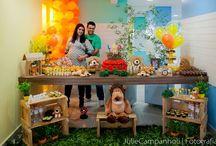 Chá de bebê leãozinho / Chá de bebê menino Decoração Leãozinho - Babyshower | Lion | baby | boy