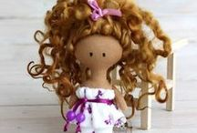 SHP Collectible Dolls / This board contains handmade and vintage dolls for sale through Etsy Shop Owners' stores.