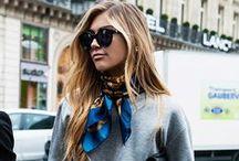 Siopaella loves Scarfs / Fashion scarf inspo and ways to wear them