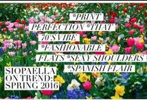 Siopaella on Trend / A collection of our favourite trends for Spring 2016 and how to wear them!  Shop 24/7 our preloved designer collections of Chanel, Louis Vuitton, Gucci, Prada and more over on Siopaella.com <3