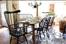 I LOVE Windsor Chairs / A classic American colonial treasure!
