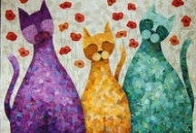 Mosaic Collage Art Quilts
