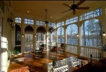 Porches, Sunrooms and Conservatories Oh my!