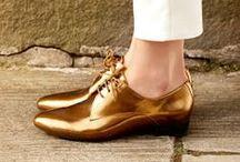 Metallic inspiration...shiny shoes
